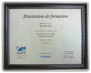 attestation reconnue