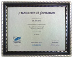 Attestation de Formation