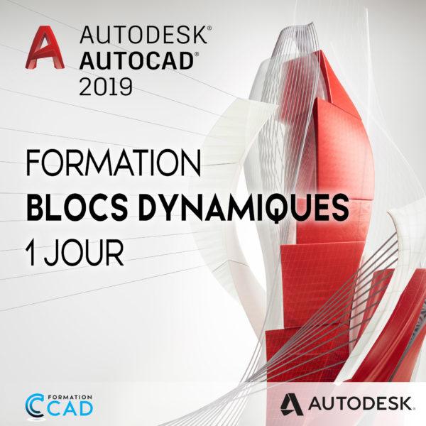 Formation AutoCAD Blocs Dynamiques (1 jour)