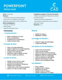 Formation Microsoft Powerpoint Base (1 jour)
