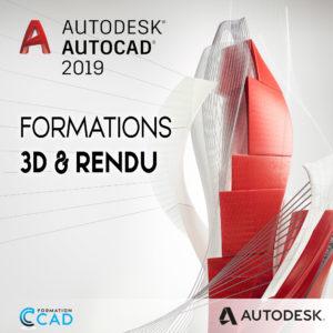Formation Autocad 3D & Rendu
