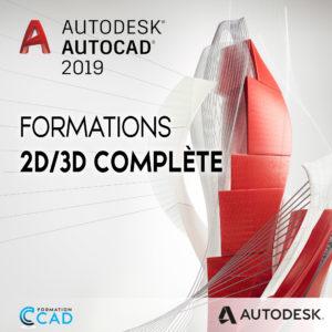 Formation Autocad 2D/3D Complète