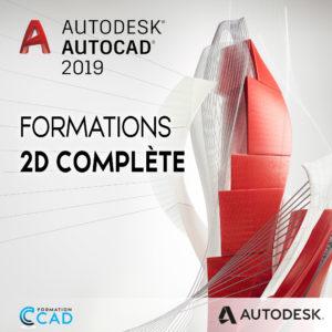 Formation Autocad 2D Complète