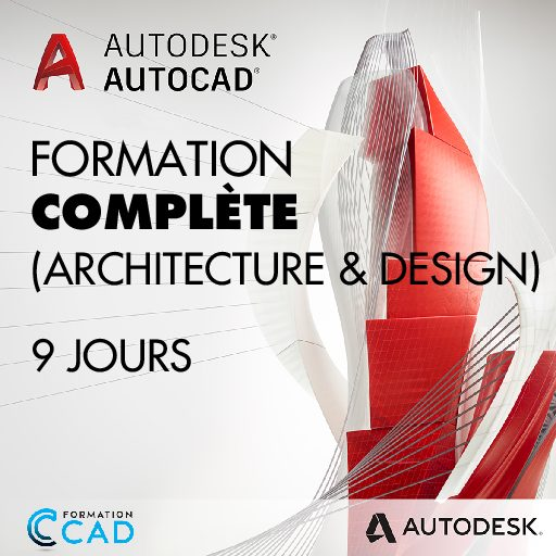 Formation AutoCAD 2D Complète - Architecture & Design (9 jours)