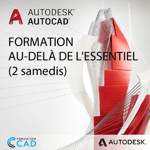 Formation AutoCAD 2D Au-delà de l'Essentiel (2 SAMEDIS)