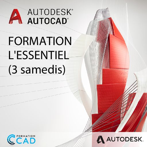 Formation AutoCAD 2D L'Essentiel (3 SAMEDIS)