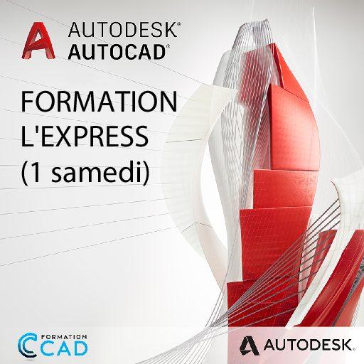 Formation AutoCAD 2D Express (1 SAMEDI)