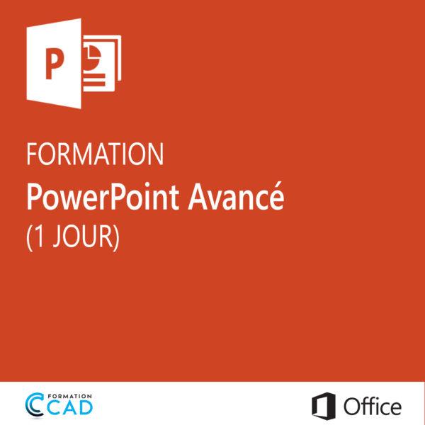 Formation Microsoft Powerpoint Avancé (1 jour)