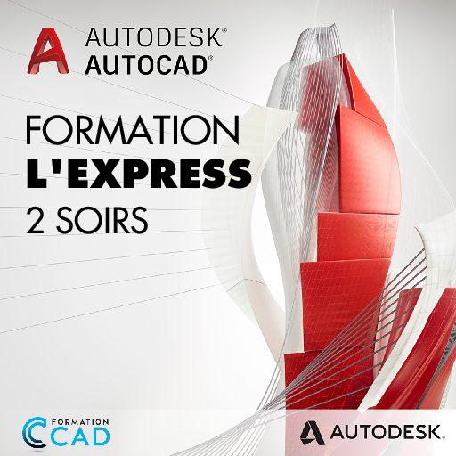 Formation AutoCAD 2D Express (2 soirs de semaine)