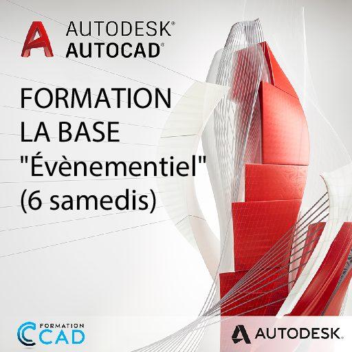 Formation AutoCAD 2D Base Dessin Évènementiel (6 samedis)