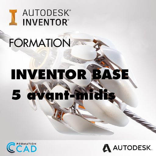 Formation Inventor - Base (5 avant-midis)