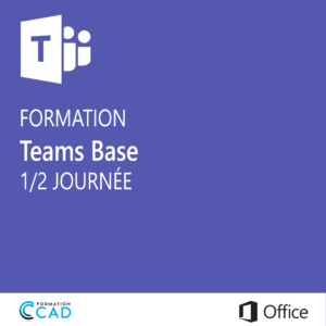 Formation Microsoft Teams Base (1/2 journée)