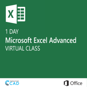 Microsoft Excel Training class - Advanced (1 day)