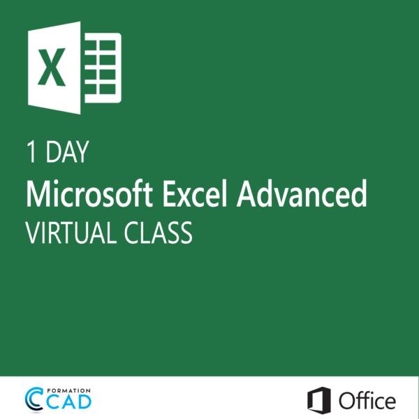 Microsoft Excel Training class - Advanced (1 day)