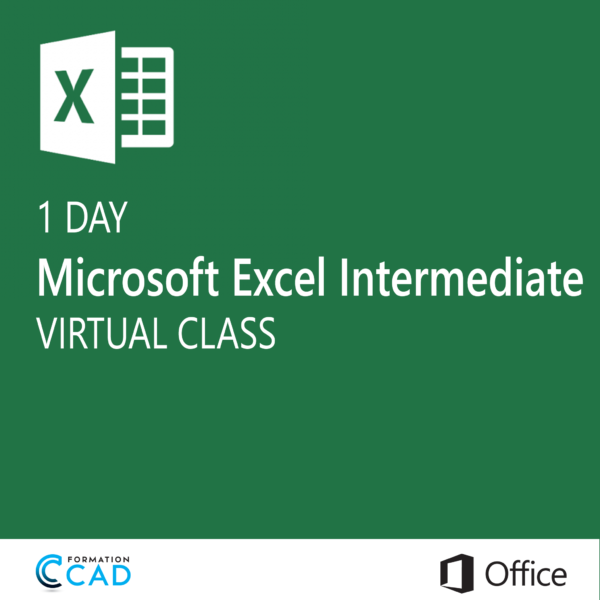 Microsoft Excel Training class - Intermediate (1 day)