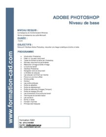 Formation Photoshop Base (2 jours)