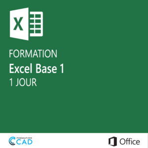 Formation Microsoft Excel - Base 2  (1 jour)