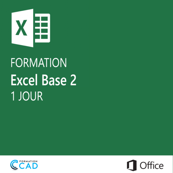 Formation Microsoft Excel - Base 1 (1 jour)
