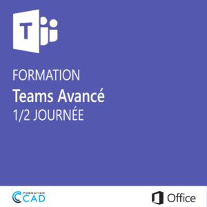 Formation Microsoft Teams Avancé (1/2 journée)