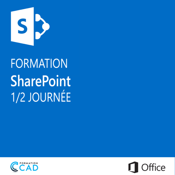 Formation Microsoft SharePoint (1/2 journée)
