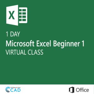 Microsoft Excel Training class - Beginner 1 (1 day)